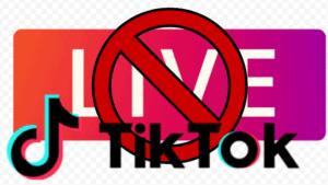 Cách mở khoá live cấm phát trực tiếp TikTok