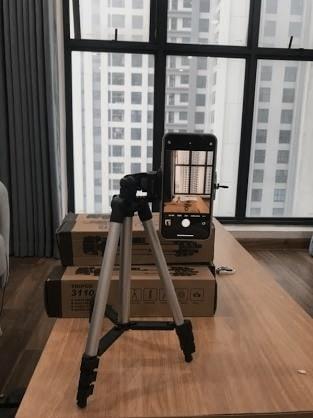 Trải nghiệm chân máy tripod TF3110 quay TikTok